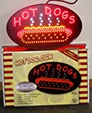 Animated LED HOT DOGS Sign