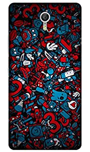 iessential pattern Printed Case for Lenovo ZUK Z1