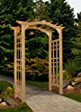 New England Arbors Westwood Arch Arbor (Discontinued by Manufacturer)