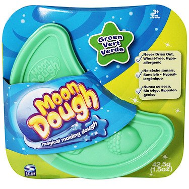 Spin Master Magical Molding Moon Dough Green - 1