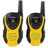 Binatone Latitude 100 - Pack de 2 walkie-talkies, amarillo