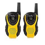 Binatone Latitude 100 PMR Funkgerät mit LCD Display (Reichweite: 3 km) gelb