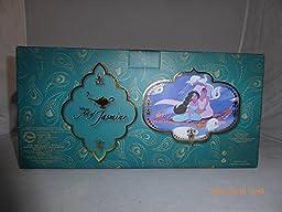 Disney Store Princess Jasmine Aladdin Snowglobe Musicial A Whole New World 2015