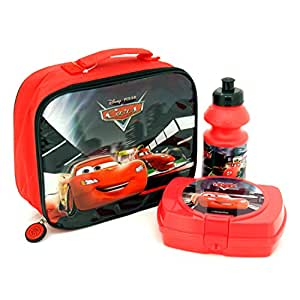 Disney Cars Deluxe 3 Piece Lunchbag Set