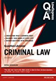 Law Express Question and Answer: Criminal Law (Q&A Revision Guide) (Law Express Questions & Answers)
