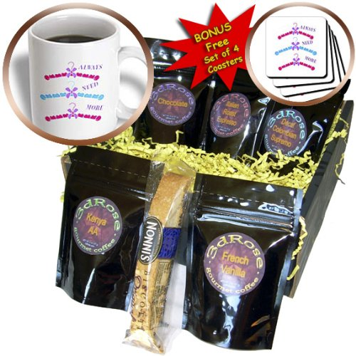Cgb_62227_1 Florene Decorative - 3 Cute Hangers For A Girl Needs Alot Of These - Coffee Gift Baskets - Coffee Gift Basket