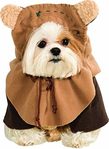[Ewok Wicket Star Wars Movie Fancy Dress Up Halloween Pet Dog Cat Costume, Star Wars - Ewok Dog Costume *Product Quality*] (Quality Superhero Costumes)
