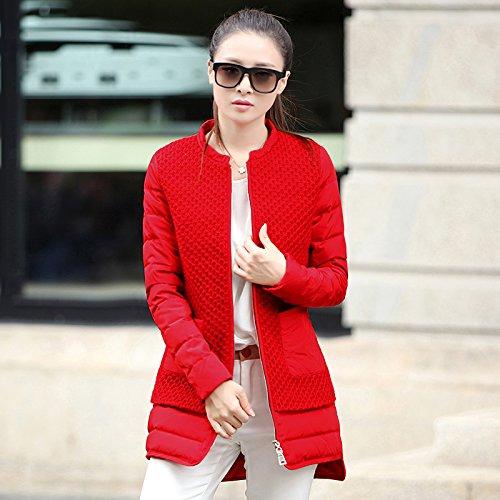 WJP donne ultra leggero rivestimento Packable gi? Outwear tampone piumino W-313