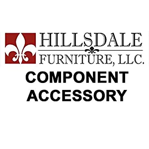 Dover Canopy & Legs - King from Hillsdale Furniture