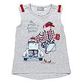 boboli, 461179 - Camiseta Punto Elástico, color gris vigore claro, talla 4(104cm)