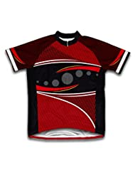 Red Frontier Short Sleeve Cycling Jersey for Women