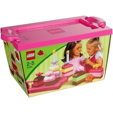LEGO DUPLO Briques - 6785 - Jouet d'Eveil - Set de Construction de Gâteaux