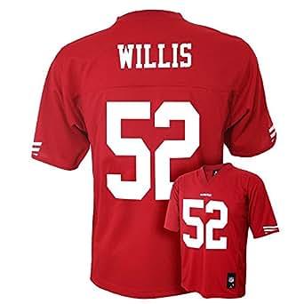 Patrick Willis San Francisco 49ers Red NFL Youth 2013-14 Season Mid-tier Jersey (Medium 10/12)