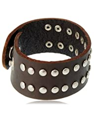 Unknown By Ayesha Strand Bracelet For Men (Brown) (51877-BRN)