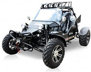 BMS Sand Sniper 1000 BLACK Gas 4 Cylinder 2 Seat Dune Buggy Go Kart