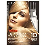 Clairol Nice N Easy Perfect 10 Permanent Hair Colourant Light Ash Blonde 9A (Pack of 2)