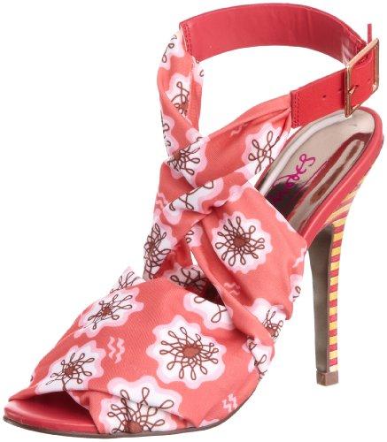 Zandra Rhodes Women's Nerissa Pink Decorative ZRS1114B 5 UK