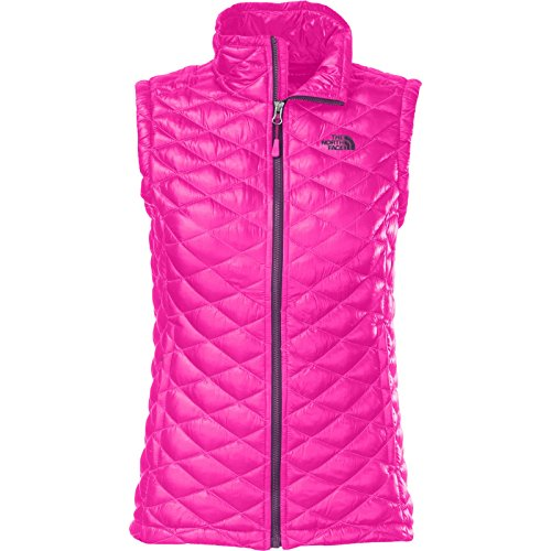 The North Face ThermoBall Insulated Vest - Womens Glo Pink, S