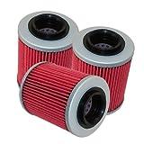Caltric 3 PACK Oil Filter Fits APRILIA RSV MILLE R SP TUONO RSV RST1000 SL1000 ETV1000 ETV 1000 TUONO