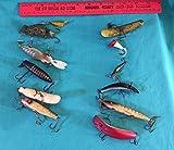 Vintage Fishing Lure Heddon U2O Frog LU Jointed Glass Eye Metal Lip S3 Phillips