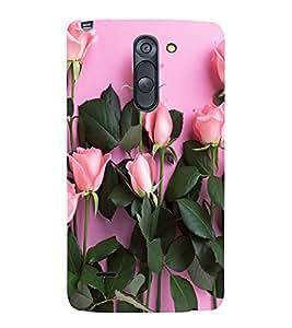 LOVELY ROSES Designer Back Case Cover for LG G3 Stylus::LG G3 Stylus D690N::LG G3 Stylus D690