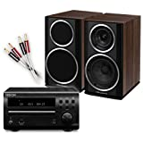 Creative Audio CA-MS8-BW Micro Stereo System (Denon DM39DAB Black + Wharfedale Diamond 121 Walnut Pearl + £55 QED cable bundle). 2 Year Guarantee + Free next working day delivery (most mainland UK addresses)!