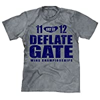 Deflate Gate Patriots Men's Unisex T-shirt Sport Grey
