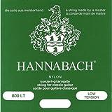 Hannabach 652367 - Juego de cuerdas para guitarra de entorchado plateado