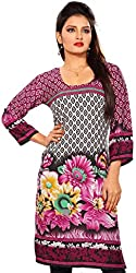 Vibrant Trendy Long Tunics Kurti Blouses - Multiple Styles & colors - Must See
