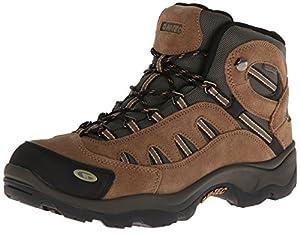 Hi-Tec Men's Bandera Mid WP Hiking Boot,Bone/Brown/Mustard,14 M US