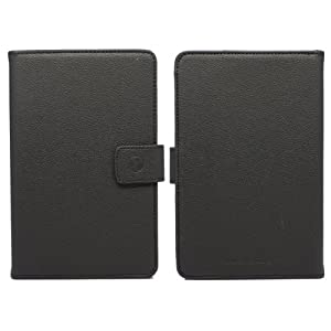 JustCase Executive Kindle Fire PU Leather Cover Case ($10.99)
