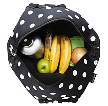 Lunch Bag by Freddie and Sebbie - Fashionable Reusable Large Neoprene Lunch Box - Luxury Lunch Boxes Bags For Women, Adults, Kids, Girls, and Teen Girls 2