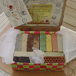 Twelve Piece Gentleman's Handmade Soap Gift Set