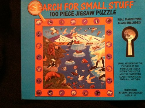 Search for Small Stuff 100 Piece Jigsaw Puzzle