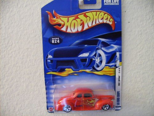 Hot Wheels '40 Ford Coupe 2002 First Editions #12 [Toy] - 1