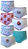 Disney's Ariel the Little Mermaid 7 Pack Toddler Girls Panties for girls
