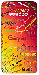 Gayana (Popular Girl Name) Name & Sign Printed All over customize & Personalized!! Protective back cover for your Smart Phone : Samsung Galaxy E5