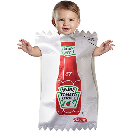Heinz Ketchup Packet Baby Bunting Costume - 3-9 Months