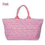 アウトレット キットソン グラフティ大きいトートバッグ KITSON Graffiti Tote Bag Lサイズ『並行輸入品』 (ピンク)