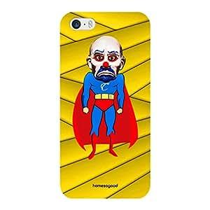 HomeSoGood Comic Joker Yellow 3D Mobile Case For iPhone 5 / 5S (Back Cover)