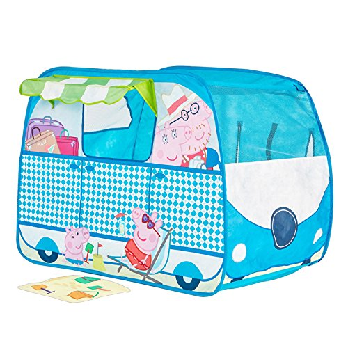 Peppa Pig Campervan Pop Up Role Play Tent (Peppa Pig Play D compare prices)