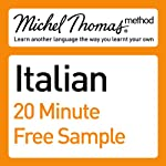 Michel Thomas Method: Italian Course Sample | Michel Thomas