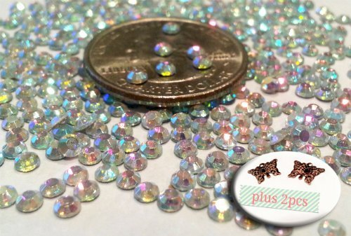 crystal-ab-round-rhinestone-3mm-10ss-3d-acrylic-nail-art-decoration-cellphone-case-usa-seller-fast-s