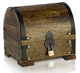 Bauern-kasse Schatz-Truhe Schatz-Kiste aus Holz