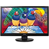 ViewSonic VA2446M-LED 24-Inch LED-Lit LCD Monitor, Full HD 1080p, DVI/VGA, Speakers, VESA