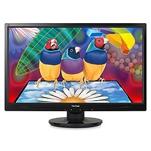 ViewSonic VA2446M-LED 24-Inch LED-Lit LCD Monitor, Full HD 1080p