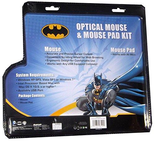 DC Comics Batman Optical Mouse & Mouse Pad Combo at Gotham City Store