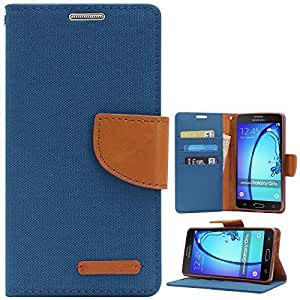 Online Street Royal Diary Flip Cover For One Plus Two / 1+2 - (Pink Blue)