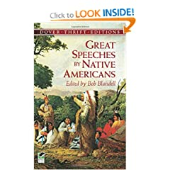Great Speeches by Native Americans (Dover Thrift Editions) by Bob Blaisdell