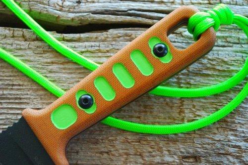 Tops Knives Lite Trekker Hunter Tlt-01 Survival Green